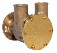 "1"" bronze pump, <b>80-size</b>, flange-mounted with 32mm (1¼"") hose ports"