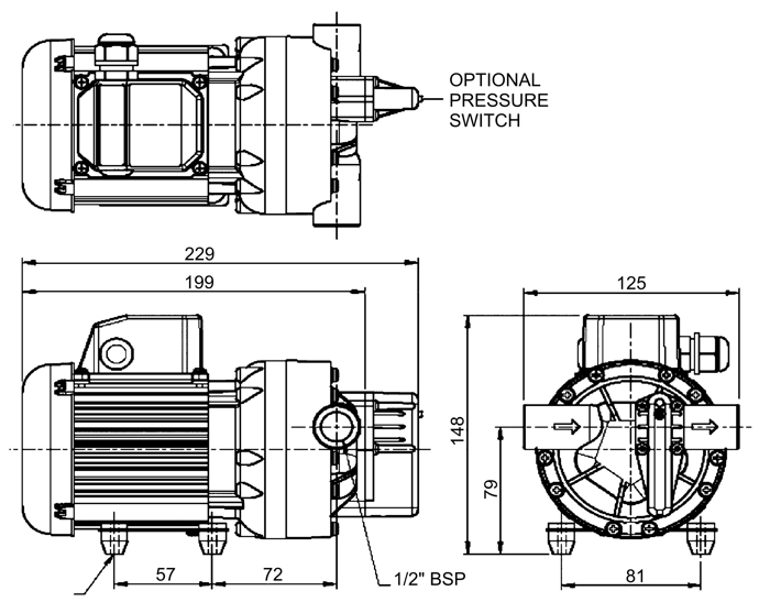 Reachmaster fs95 also 12v Dc Male Plug Wiring Diagram in addition 15106348 besides 416955 Multi Chamber Diaphragm Pump 110v150 60hz further 9335 170 L Min Submersible Puddle Sucker Lsc14s Manual 230v. on hydraulic pump 110v